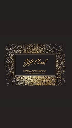 GIFT CARDS - A selection of gift card values are available from £25