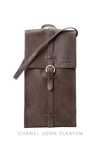 Long Leather Shoulder Bag