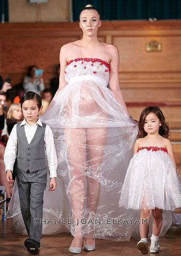 Embellished Long Bridal Gown