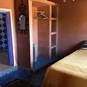 The built in wardrobe in room Wahed