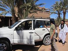 Getting to Dar Sidi Bounou by car