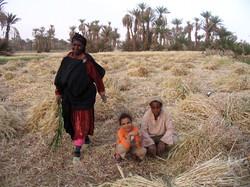 A local family in Bounou