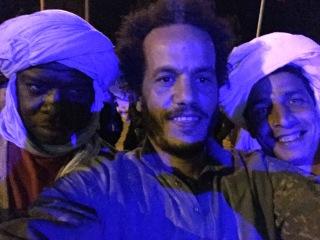 Daoud enjoying the Nomads Festival