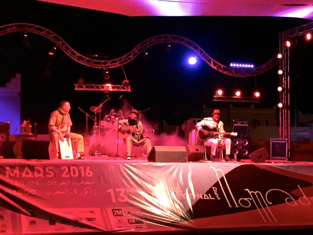 Afel Boucom at Nomad Music Festival Mhamid 3.2016