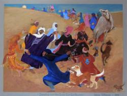 Dancing over the dunes by Nancy
