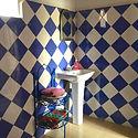 The bathroom for room Jouj