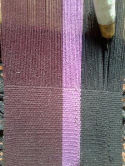 weaving carpets