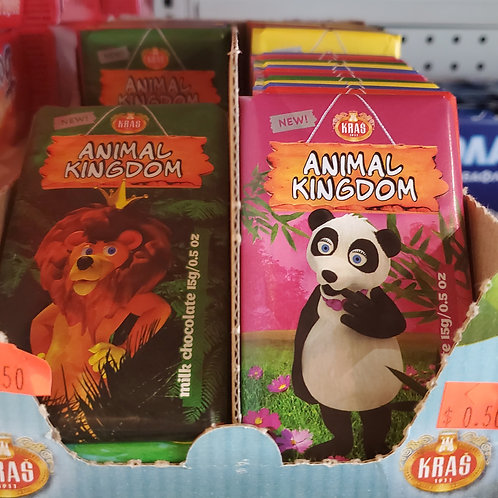 Animal Kingdom Mini Chocolates 15gr
