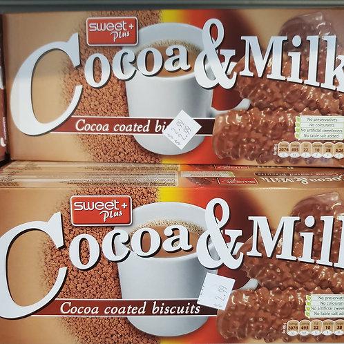Cocoa & Milk Biscuits