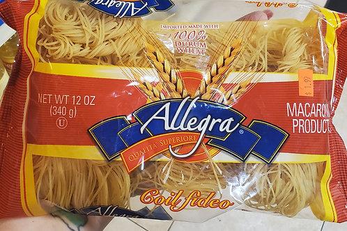 Allegra Fide Noodles 340gr