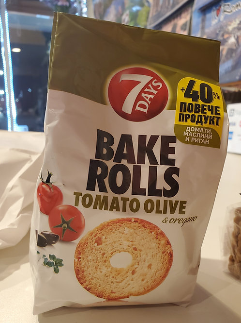Bake Rolls Tomato Olive *CLEARANCE*