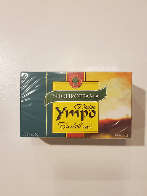 Добро Утро Good Morning Tea Bags 20ct.