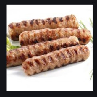 Pork Sausage Kebapche for Grill (1.85lbs)