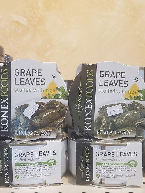 Stuffed grape leaves