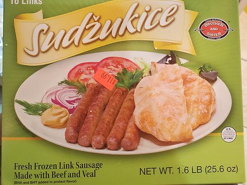 FROZEN B&S Beef Sudzukice