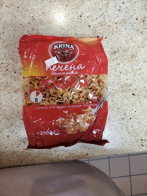 Baked ufka noodles
