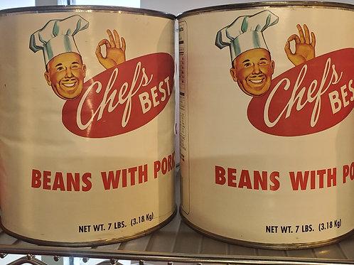 Beans with Pork 7lb