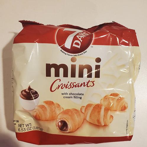 7 Days Mini Chocolate Croissants