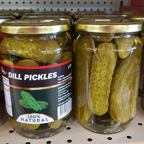 Dill Pickles 650gr