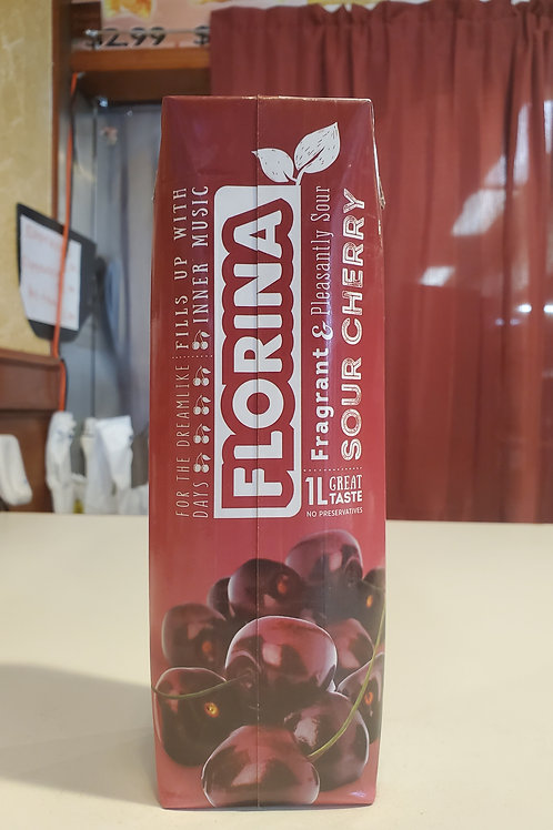 Florina Sour Cherry Juice 1L (0.26 gallons)