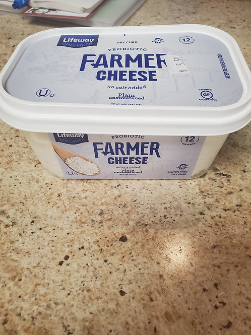 Life way farmer's cheese 1LB