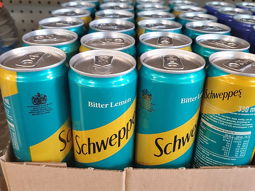 Schweppes Bitter Lemon Can 300ml