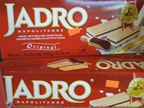 Jadro Cocoa Cream Wafers 430gr
