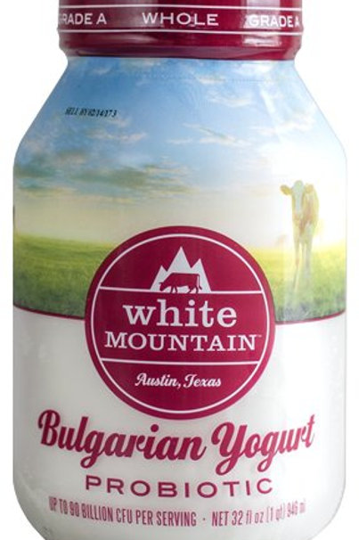 White Mountain Bulgarian Yogurt 900gr