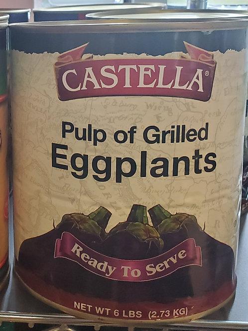 Grilled Eggplants 6lbs