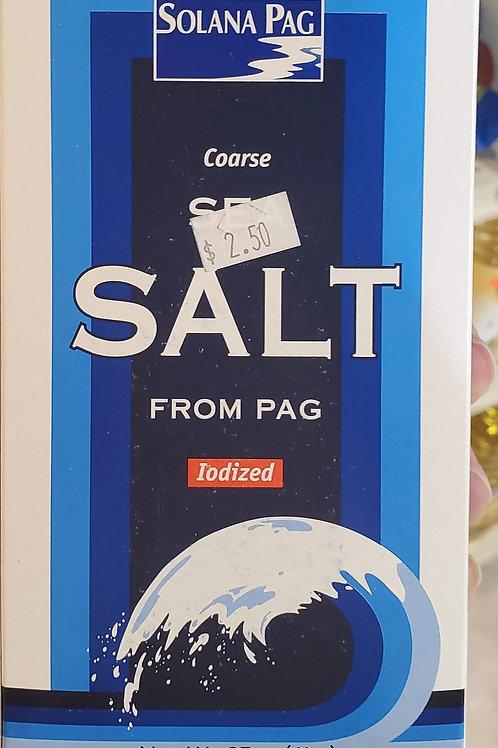 Sea Salt Iodized 1lb