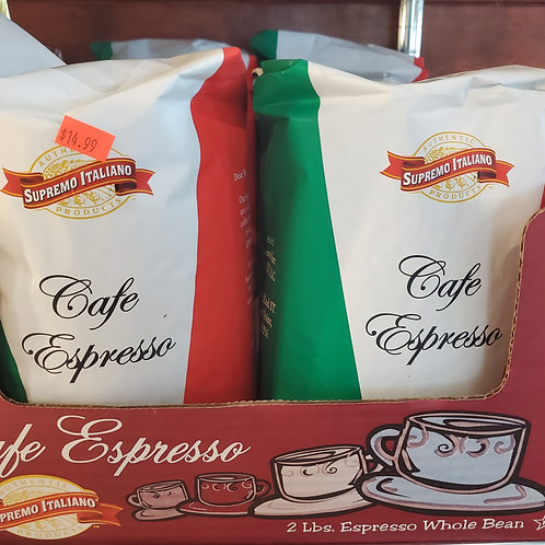 Whole Espresso Beans 2lb