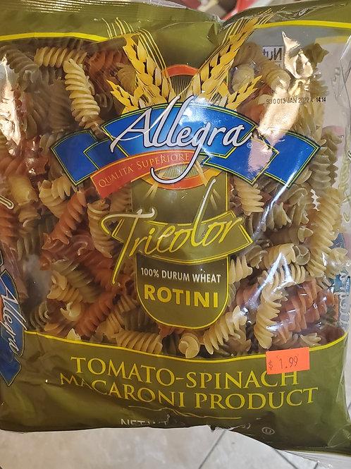 Allegra Tricolor Rotini