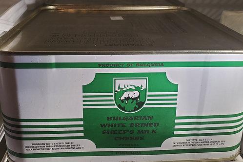 Bulgarian Sheep Premium Feta 4kg tin