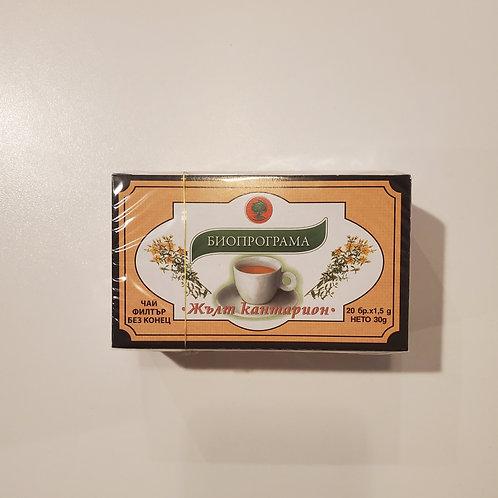 Жълт Кантарион St. John's Wart Tea Bags (20 ct.)