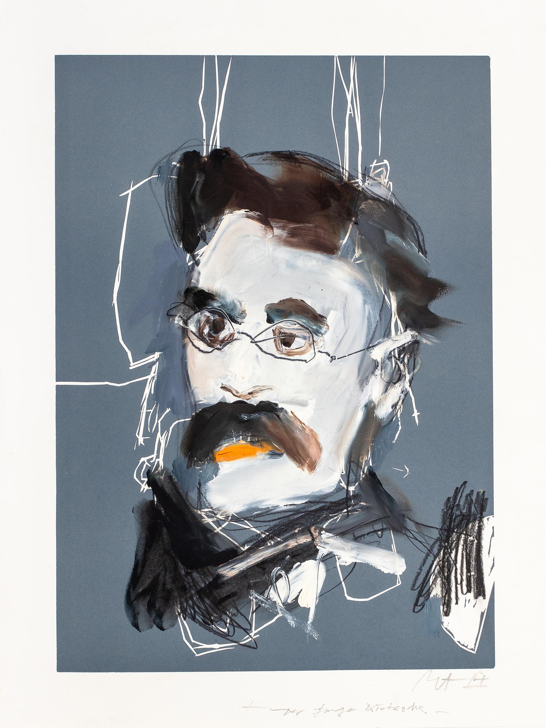 Gerd Mackensen. Der junge Nietzsche