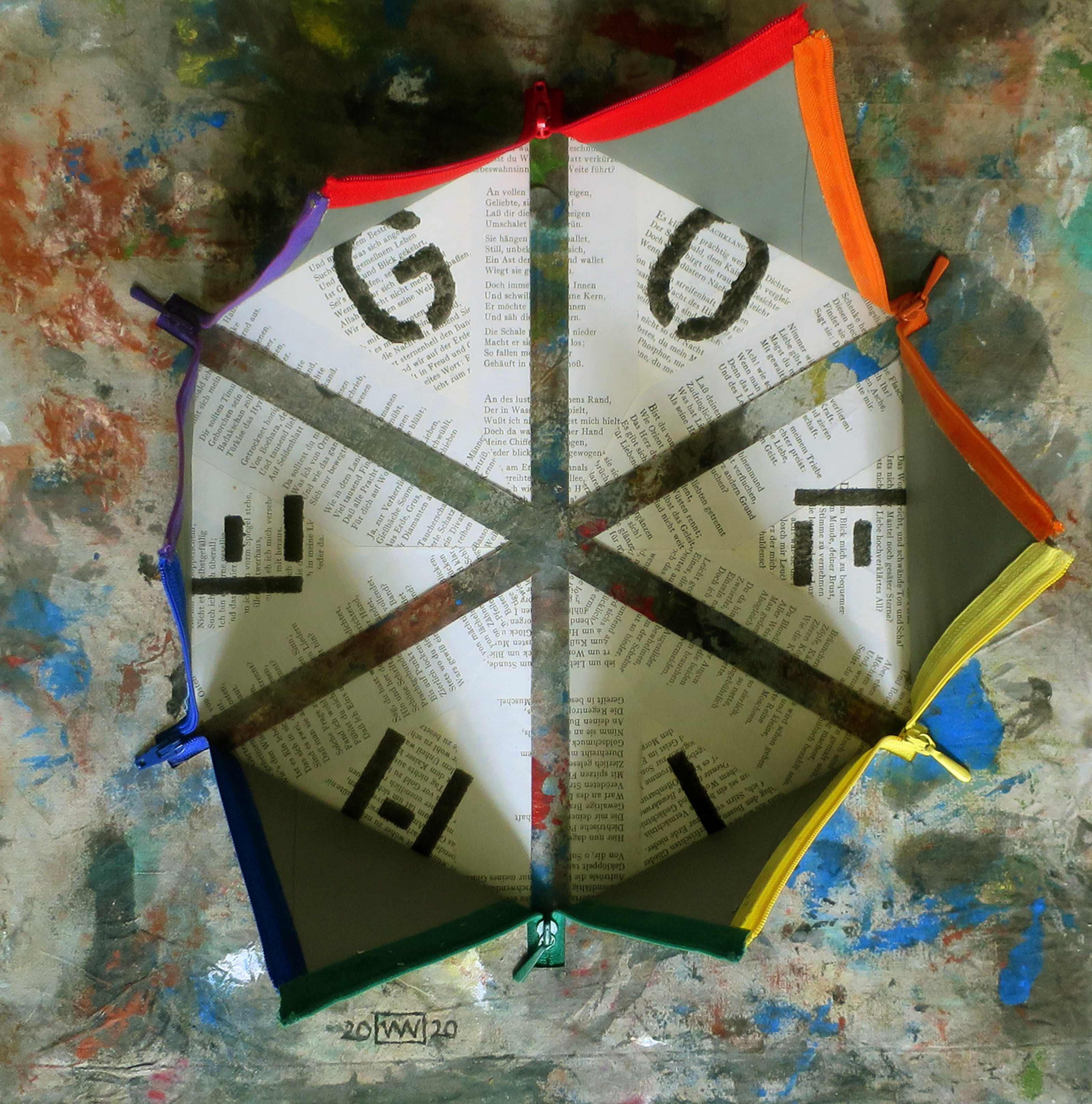 Wolfgang Nieblich_Der Goethe-Farbkreis