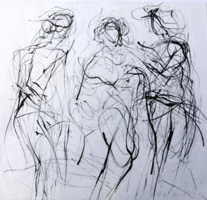 Gerda Lepke. Drei Figuren