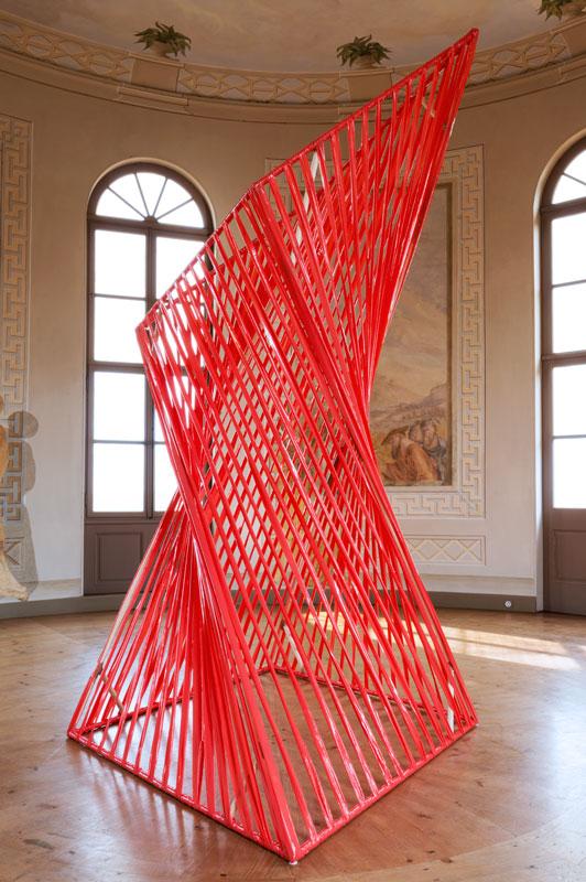 Heiko Börner. Installation im Roten Turm