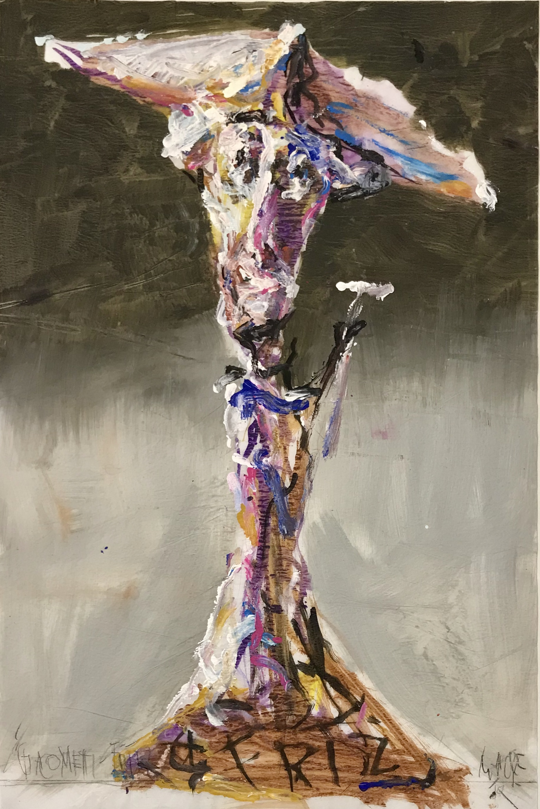 Gerd Mackensen. Giacometti-Fritz
