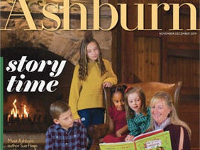 Sue is on the cover of Ashburn Magazine! Read the interview.