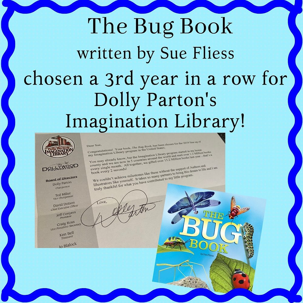 Bug Book chosen again for Imagination Library