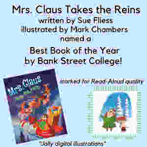 Bank Street College names Mrs. Claus a best book of the year!