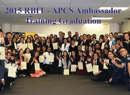 RBIT - 2015 APCS Ambassador Training Programs