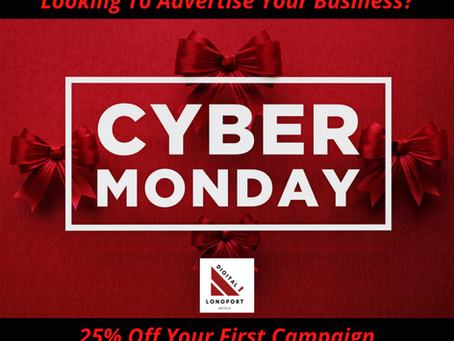Cyber Monday - 25% OFF Your First Campaign