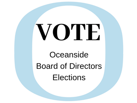 Board Elections are April 29, 2019