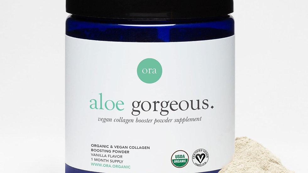 Ora Organics Aloe Gorgeous - ~ Vegan Non-GMO Collagen Booster
