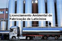 Imagem de um caminhão de laticínio