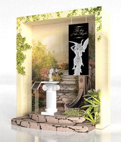Chimei Museum The Angel of Love Window Display Side