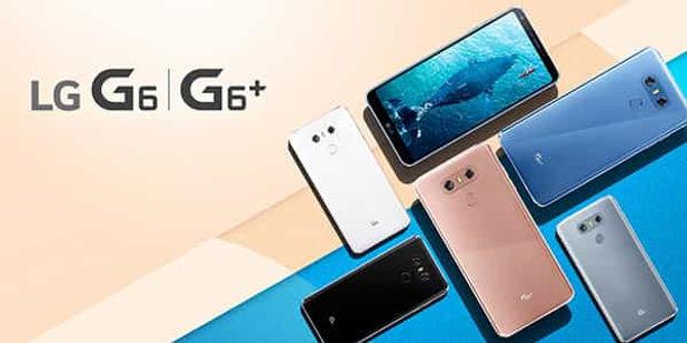 LG G6+ Key Visual