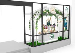 Herbal Essneces Window Display Side